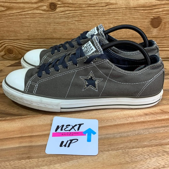 Converse One Star Olive Canvas Sneakers 10.5